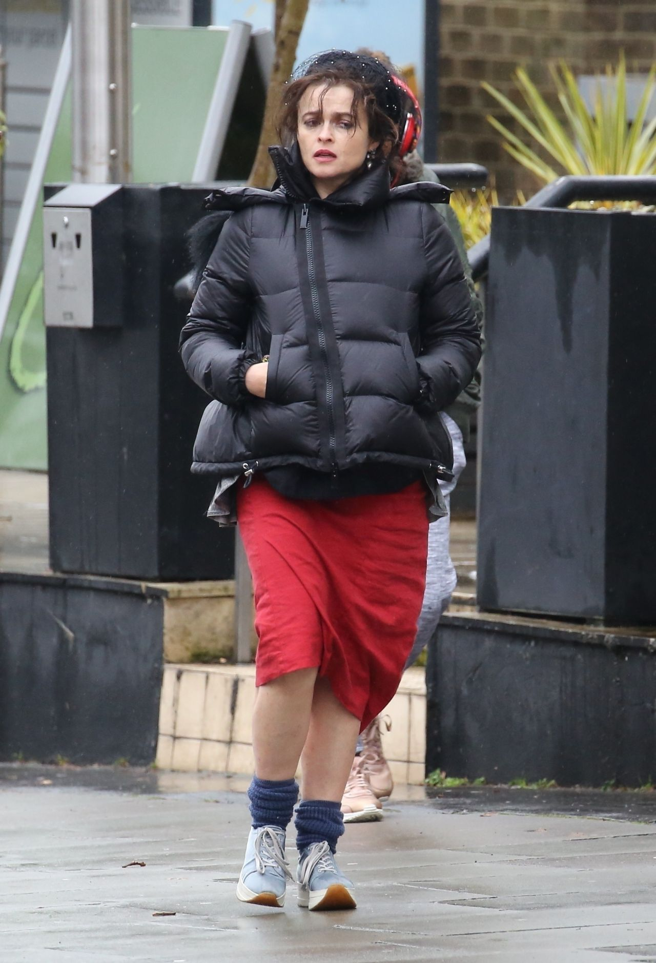 Helena Bonham Carter Out In Hampstead 01 20 2018