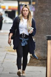 Hilary Duff Leaves Lunch at Joan