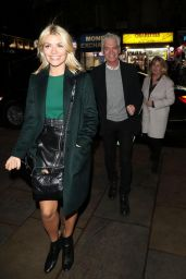 Holly Willoughby at Cafe de Paris in London