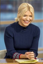Holly Willoughby - This Morning TV Show in London 01/23/2018