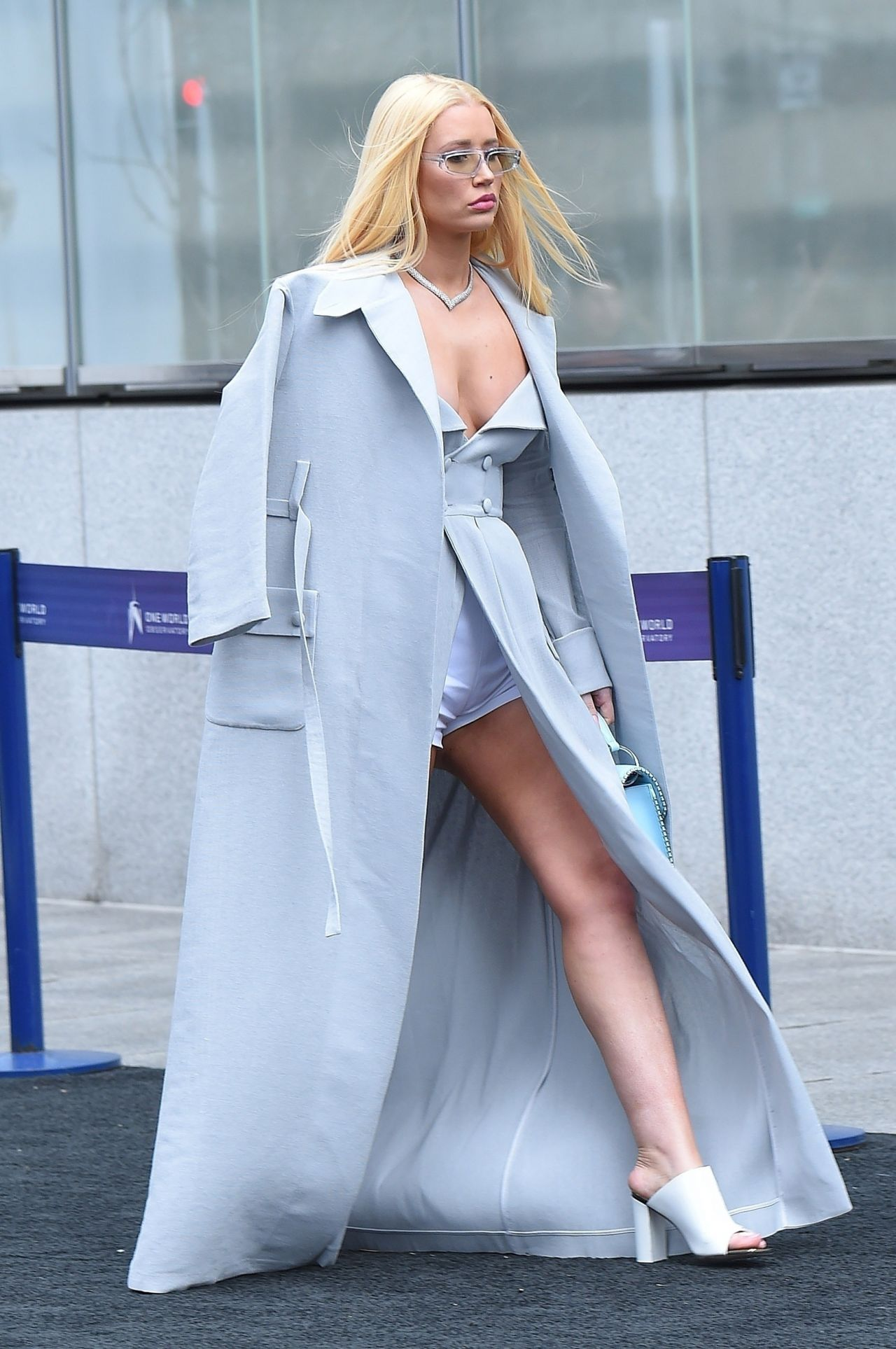 Iggy Azalea Arrives At The Roc Nation Luncheon In Nyc