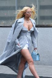 Iggy Azalea - Arrives at the Roc Nation Luncheon in NYC