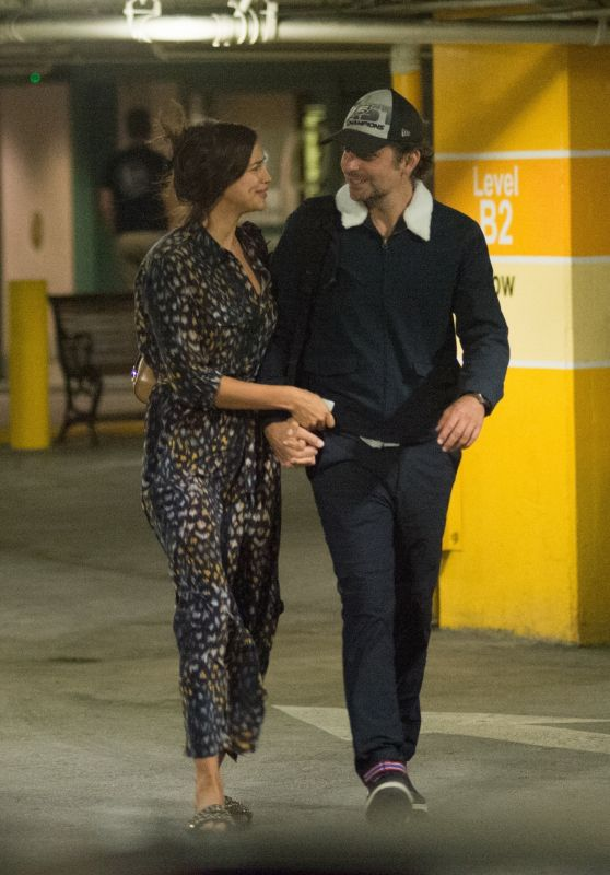 Irina Shayk at UCLA Medical Center in Los Angeles