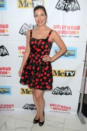 Iris Almario - Batman 66 Retrospective and Batman Exhibit Opening Night in LA
