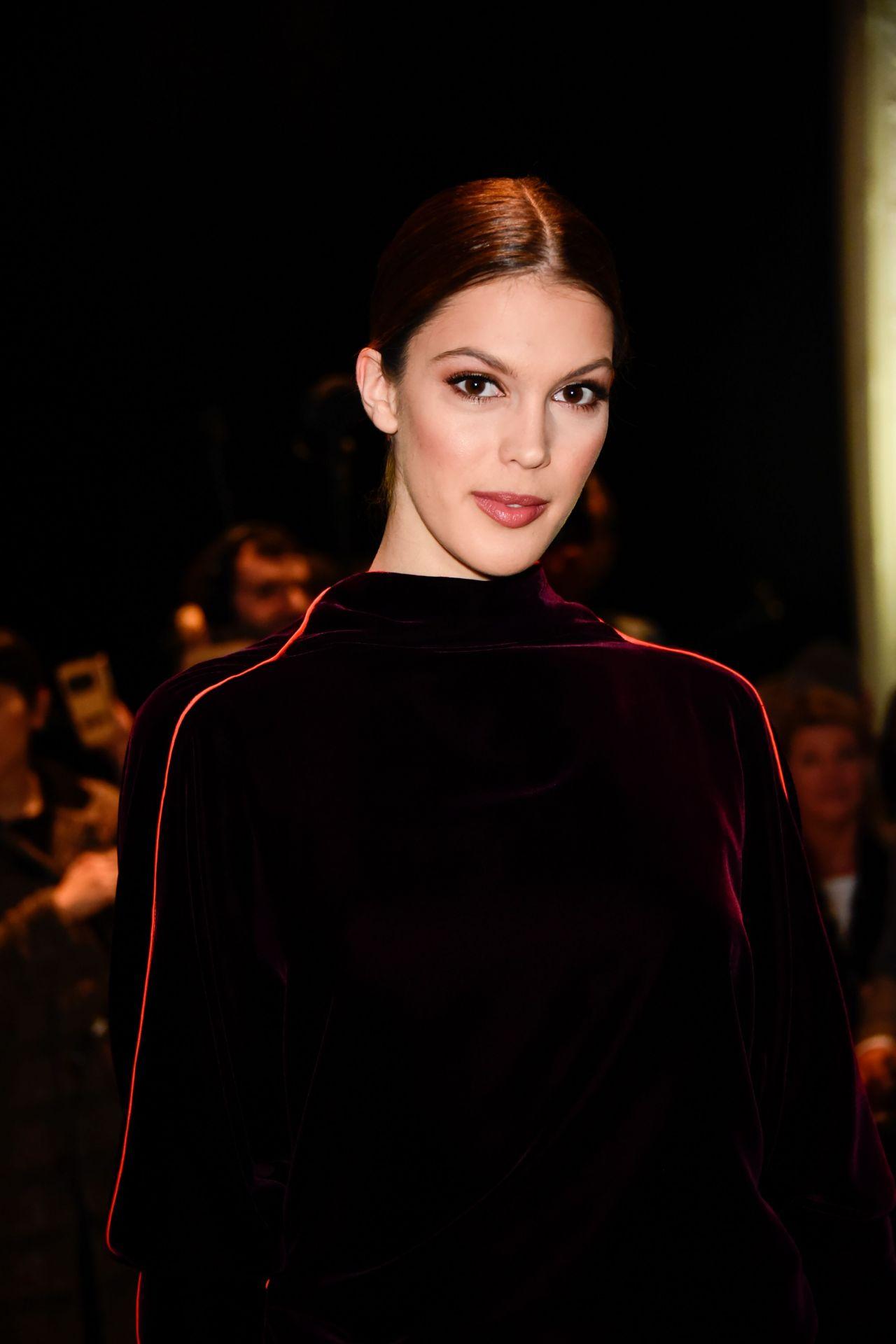 Iris Mittenaere – Jean-Paul Gaultier Fashion Show in Paris ...