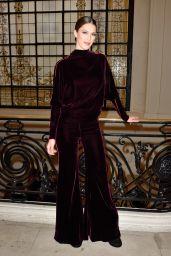 Iris Mittenaere – Jean-Paul Gaultier Fashion Show in Paris 01/24/2018
