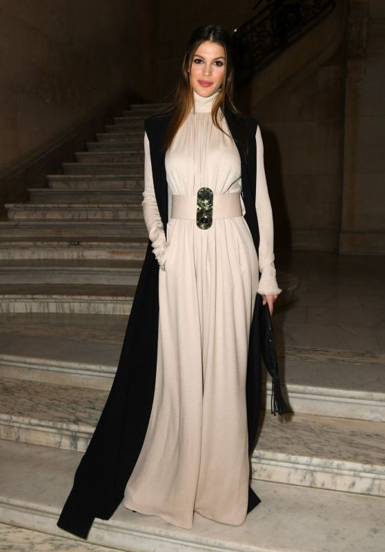 Iris Mittenaere - Stephane Rolland Fashion Show in Paris 01/23/2018