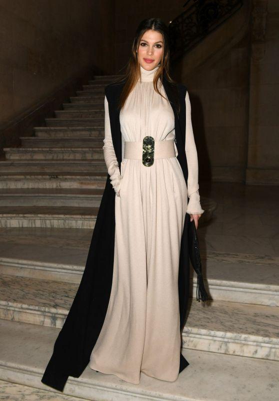 Iris Mittenaere - Stephane Rolland Fashion Show in Paris 01/23/2018