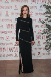 Isabelle Huppert – 2018 Sidaction Gala Dinner in Paris