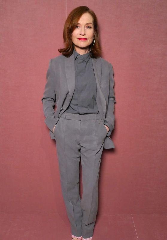Isabelle Huppert - Berluti Menswear FallWinter 2018-2019 Show in Paris
