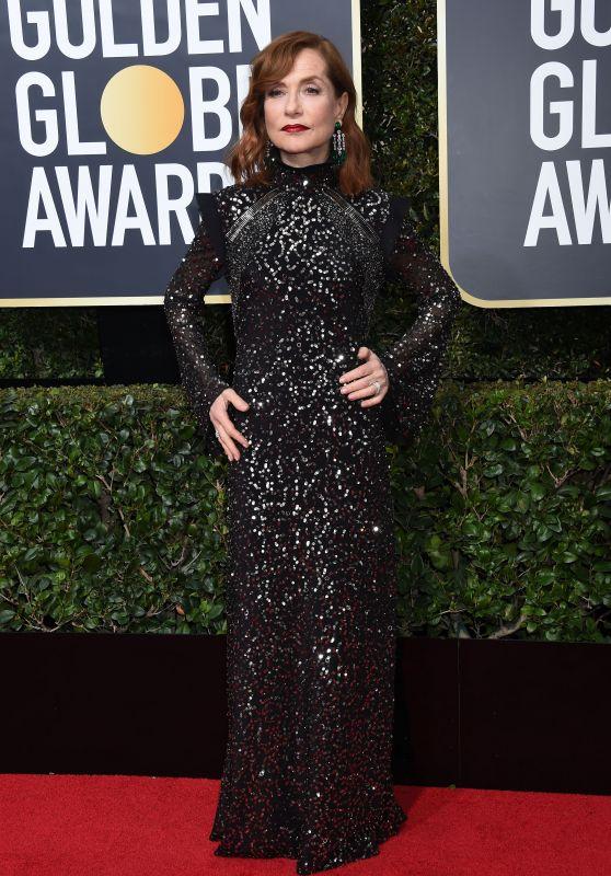 Isabelle Huppert – Golden Globe Awards 2018