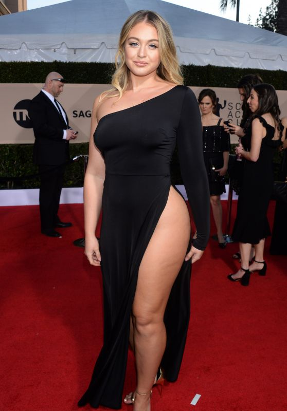 Iskra Lawrence 2018 Sag Awards In La