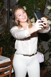 Iskra Lawrence – AerieREAL Role Models Dinner Party in New York
