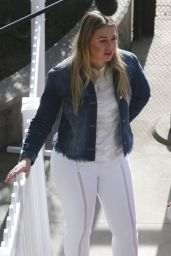 Iskra Lawrence in Casual Outfit - Los Angeles 01/28/2018