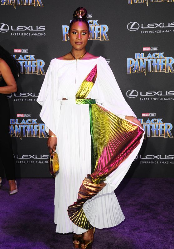 "Issa Rae – ""Black Panther"" Premiere in Hollywood"