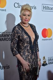 Ivana Trump – Clive Davis and Recording Academy Pre-Grammy Gala in NYC