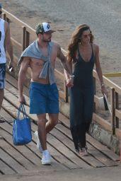 Izabel Goulart and Bruna Marquezine on a Boat in Fernando de Noronha