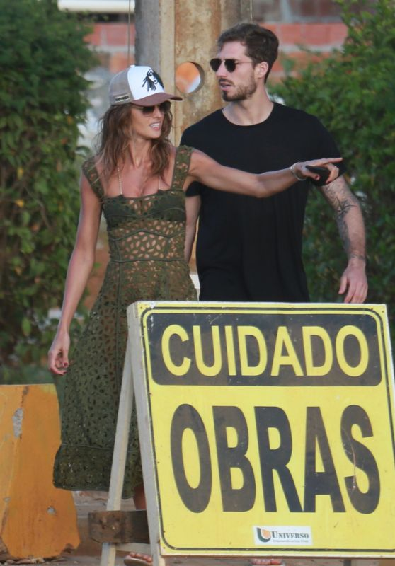 Izabel Goulart and Kevin Trapp Out With Brazilian Actor Bruno Gagliasso in Brazil