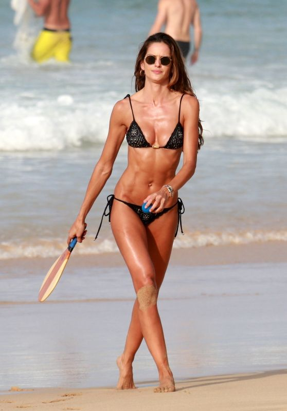 Izabel Goulart in Bikini Enjoying Cacimba do Padre Beach in Fernando de Noronha