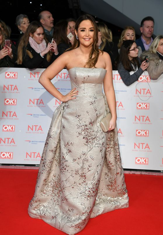 Jacqueline Jossa – 2018 National Television Awards in London