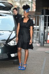 Jamelia Davis at the ITV Studios in London