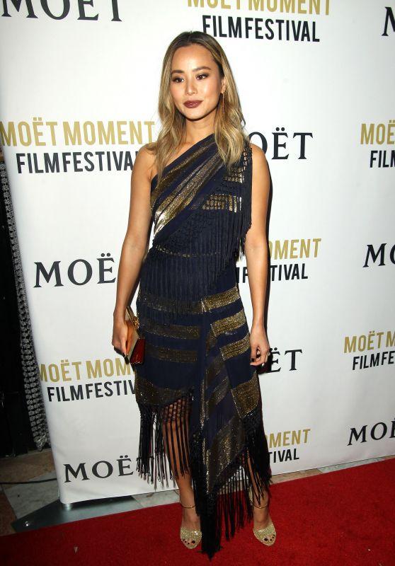 Jamie Chung – Moet Moment Film Festival Golden Globes Week in Los Angeles