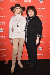 "Jane Fonda  - ""Jane Fonda In Five Acts"" Premiere at 2018 Sundance Film Festival"
