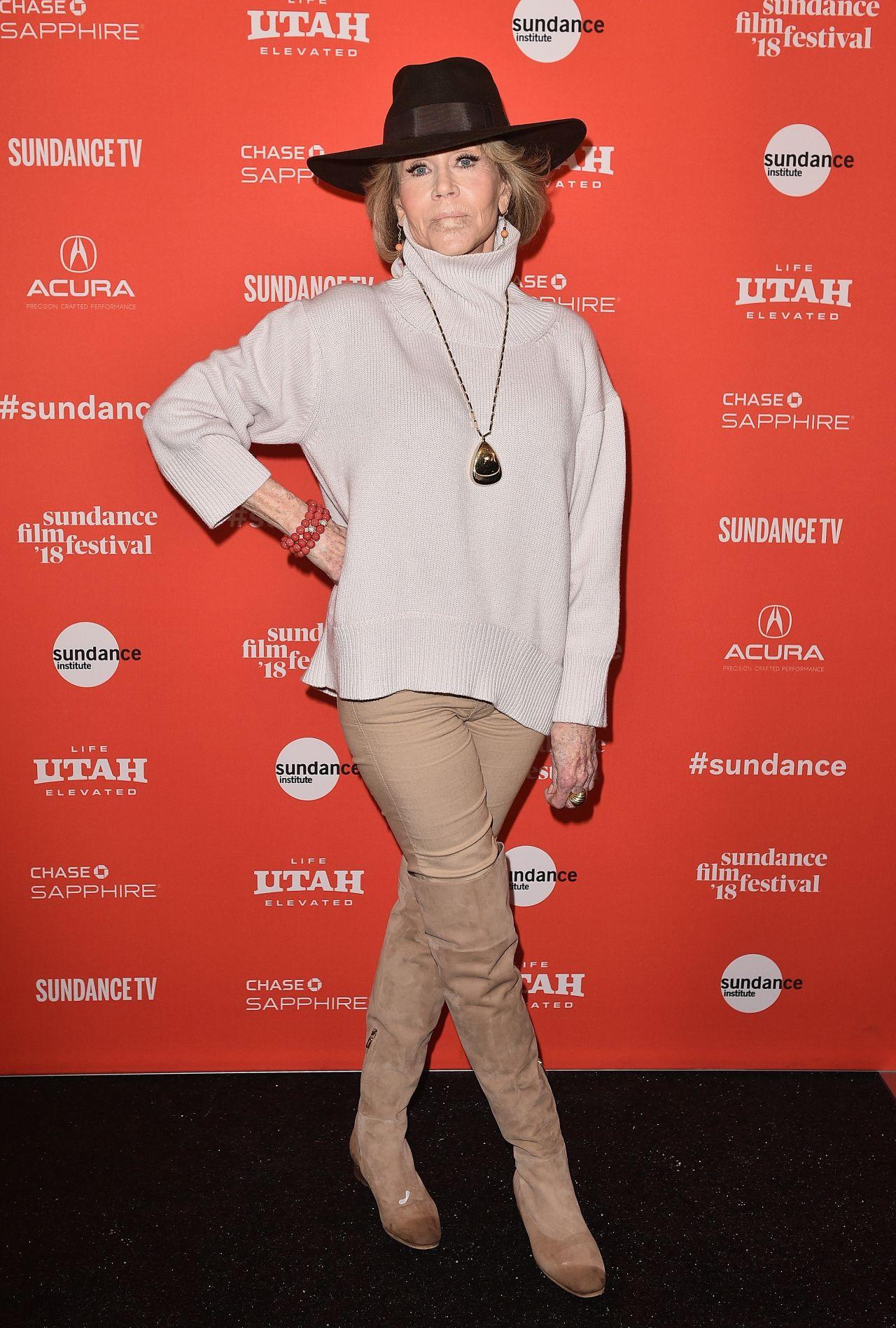 Jane Fonda Quot Jane Fonda In Five Acts Quot Premiere At 2018
