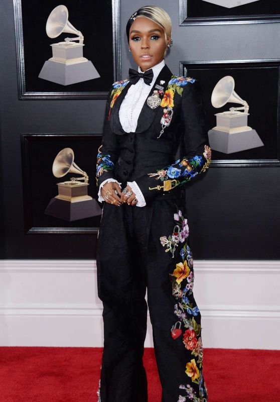 Janelle Monae – 2018 Grammy Awards in New York