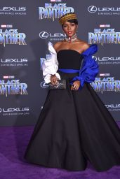 """Janelle Monae – """"Black Panther"""" Premiere in Hollywood"""