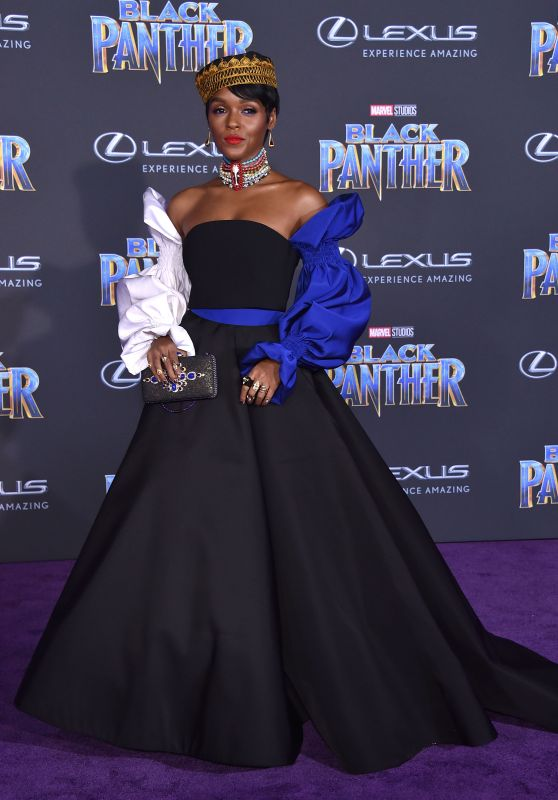 "Janelle Monae – ""Black Panther"" Premiere in Hollywood"