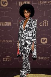 Janelle Monáe - Warner Music Pre-Grammy 2018 Party in New York