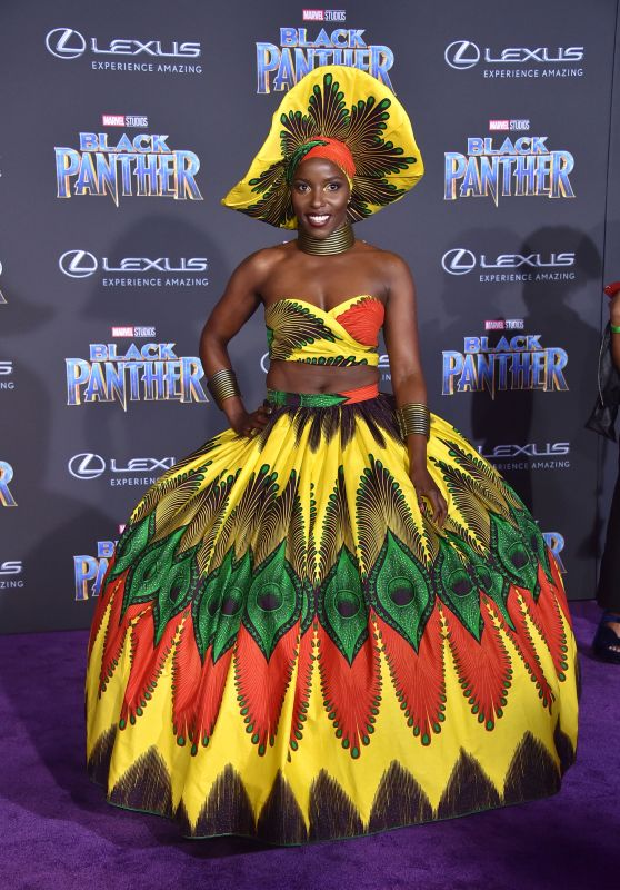 "Janeshia Adams-Ginyard – ""Black Panther"" Premiere in Hollywood"