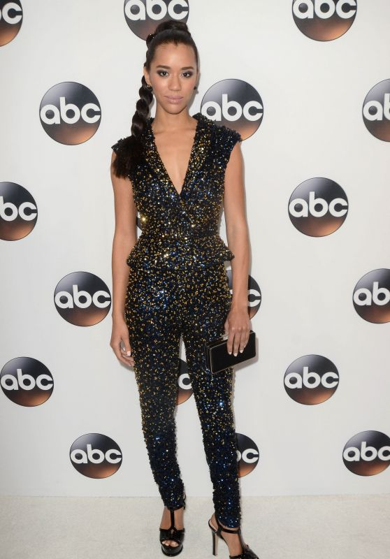 Jasmin Savoy Brown – ABC All-Star Party in LA