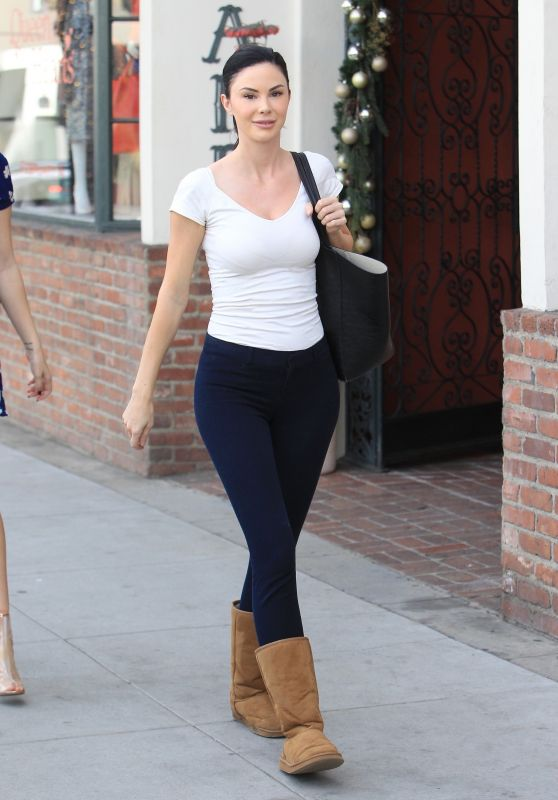 Jayde Nicole in Tights - Beverly Hills 01/30/2018