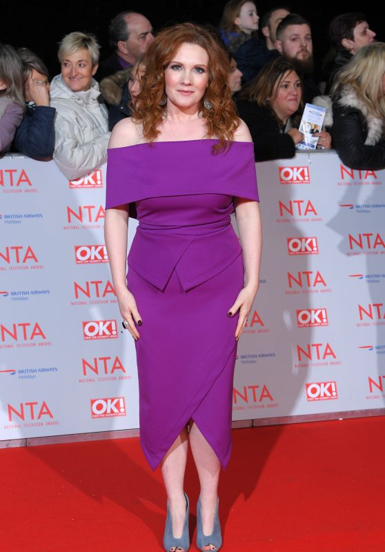 Jennie McAlpine – 2018 National Television Awards in London