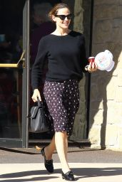 Jennifer Garner - Leaving the Community United Methodist Church of Pacific Palisades