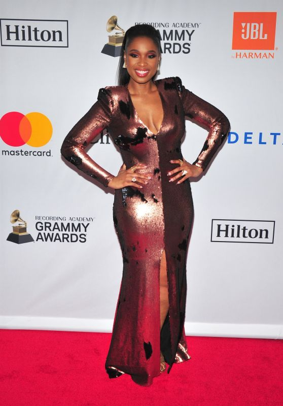 Jennifer Hudson – Clive Davis and Recording Academy Pre-Grammy Gala in NYC