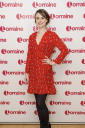 Jennifer Kirby and Leonie Elliott - Lorraine TV Show in London  01/19/2018