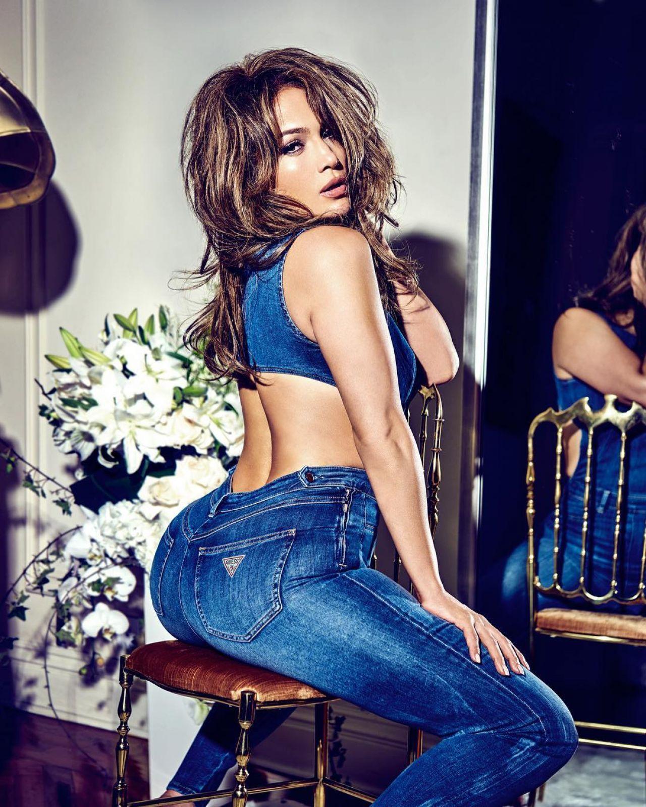 Jennifer Lopez Guess Jeans 01 15 2018