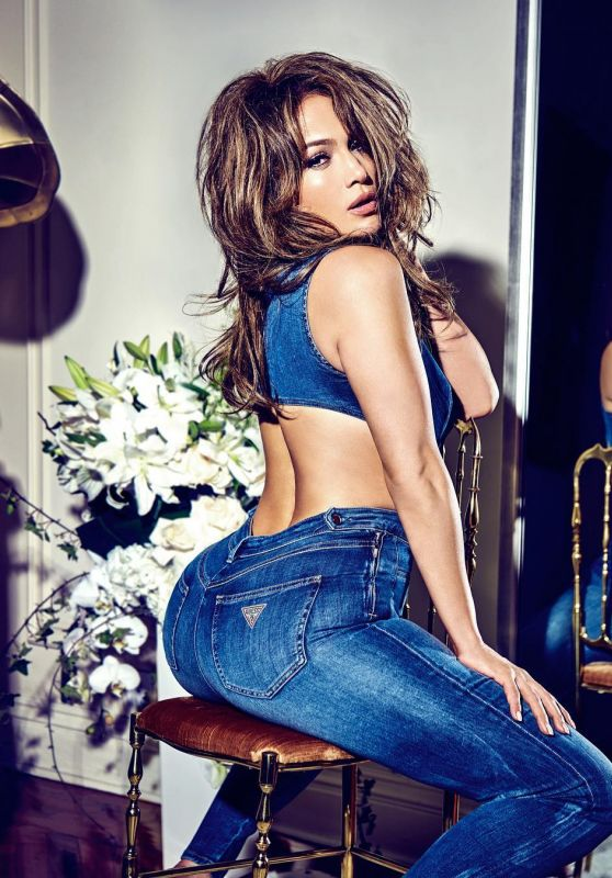 Jennifer Lopez - Guess Jeans 01/15/2018