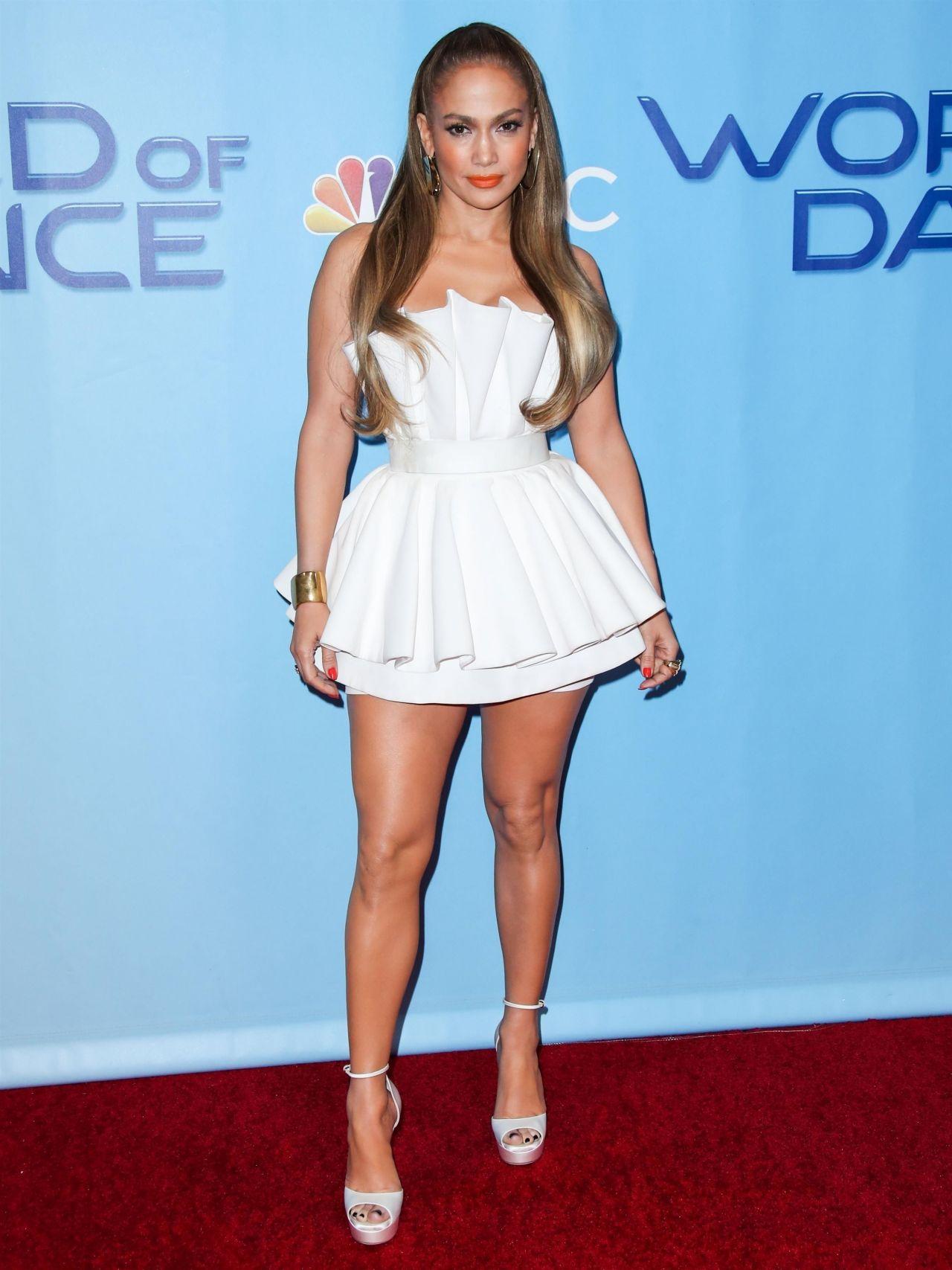 Jennifer Lopez World Of Dance Tv Show Premiere In Los