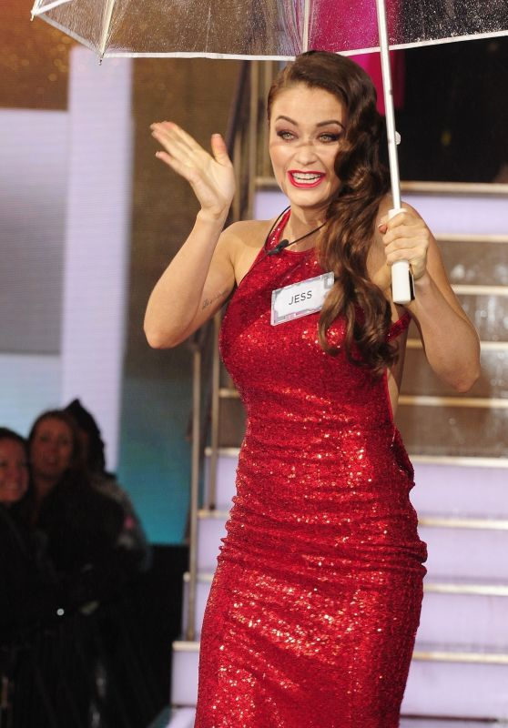 Jess Impiazzi - 2018 Celebrity Big Brother House Live Launch Night