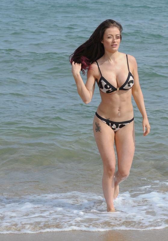 Jess Impiazzi in Bikini on a Christmas Break in Tenerife