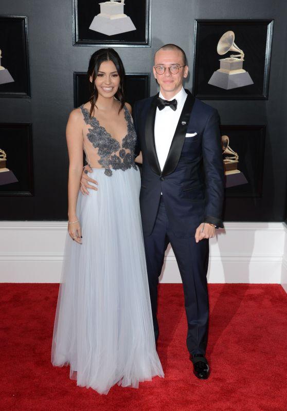 Jessica Andrea – 2018 Grammy Awards in New York