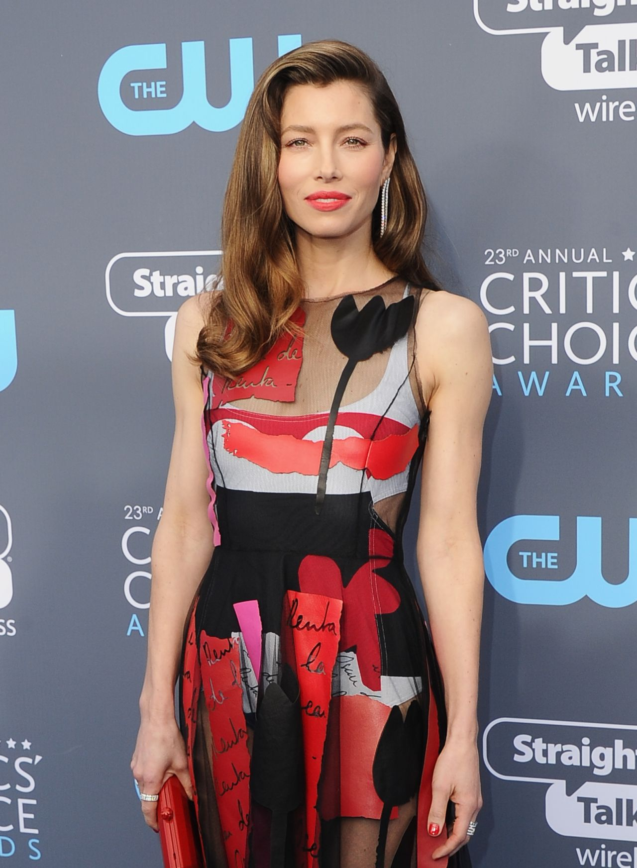 Jessica Biel 2018 Critics Choice Awards