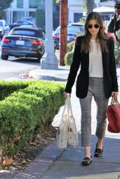Jessica Biel Shopping in Los Angeles 01/22/2018
