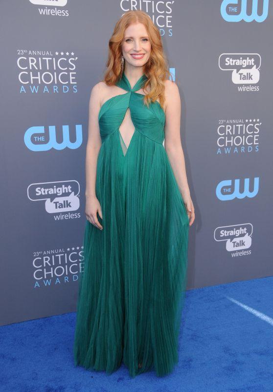 Jessica Chastain – 2018 Critics' Choice Awards