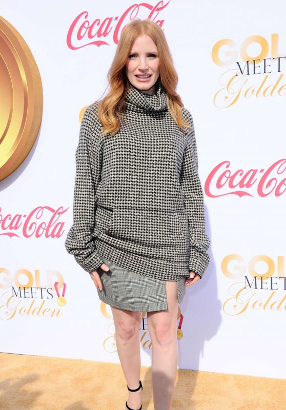 Jessica Chastain – Gold Meets Golden Awards in Los Angeles