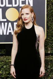 Jessica Chastain – Golden Globe Awards 2018